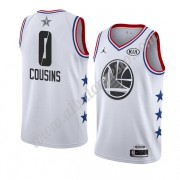 Camisetas NBA Baratas Golden State Warriors 2019 Demarcus Cousins 0# Blanco All Star Game Swingman..